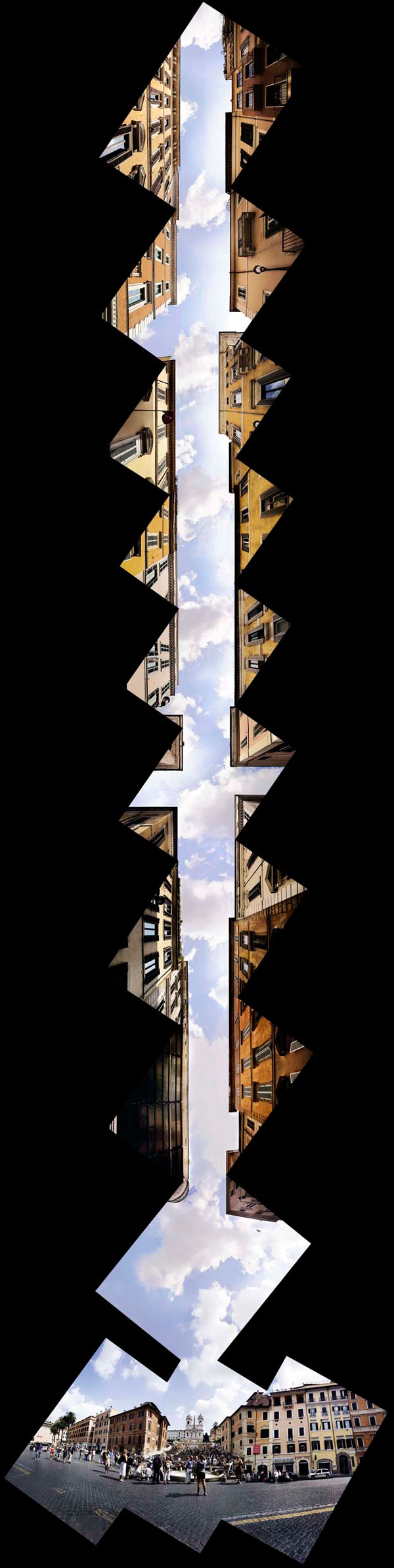 Piazza di Spagna - Il cielo di via Condotti